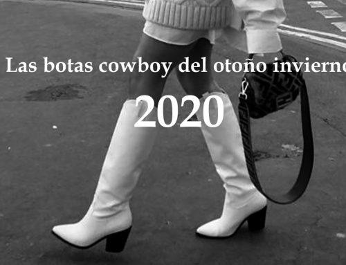 Las botas y botines cowboy vuelven a estar en tendencia este otoño – invierno 2020