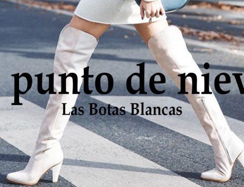 Las botas blancas pisan fuerte este invierno: altas, tipo botín, cowboy, planas o con tacón