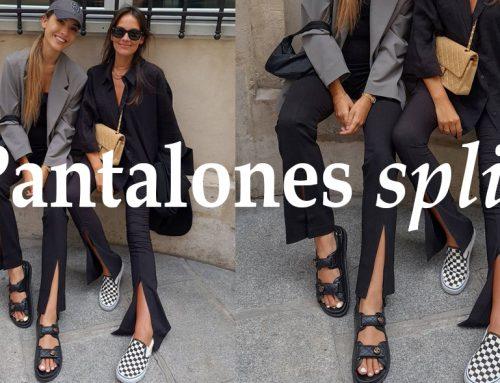 Los pantalones split, o con abertura, se postulan como una de las tendencias más fuertes de la temporada