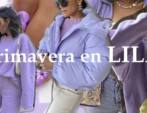 El color lila teñirá la moda en las calles esta primavera,  las redes se adelantan